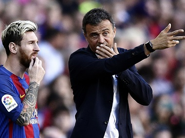Barcelonas Luis Enrique hails Lionel Messis return as perfect preparation for Manchester City