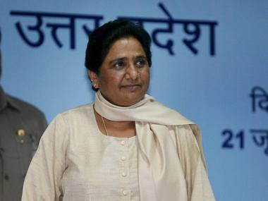 BSP chief Mayawati. File photo. PTI