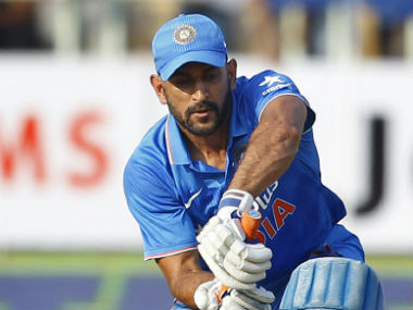 MS Dhoni was glad of the fact that the team management opted to rest key names for the ODI series. AP