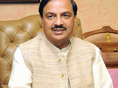 File photo of Tourism Minister Mahesh Sharma. PTI