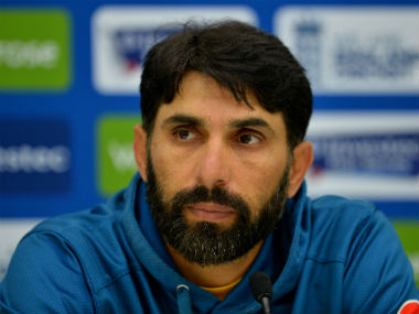 File picture of Pakistan Test captain Misbah-ul-Haq. AFP