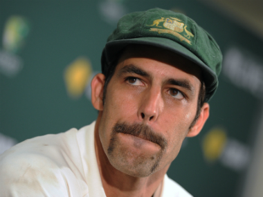 File image of Mitchell Johnson. AFP