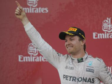 Nico Rosberg has increased the gap over Lewis Hamilton. Reuters file image