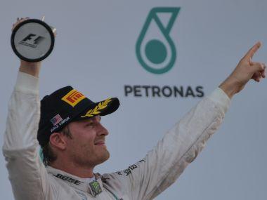 Mercedes driver Nico Rosberg. AFP