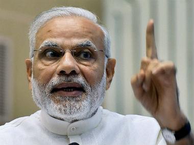 File image of Prime Minister Narendra Modi. PTI