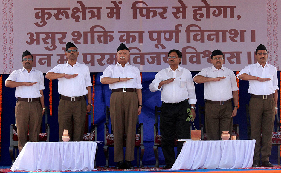 While other aspects of its attire, from shirts to shoes, have undergone a makeover since the Hindutva organisation was founded in 1925, its khaki shorts, modelled after the then British constabulary, had been a constant. PTi