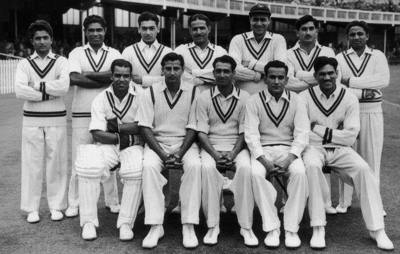 The Pakistan Test Team in 1954. Getty Images