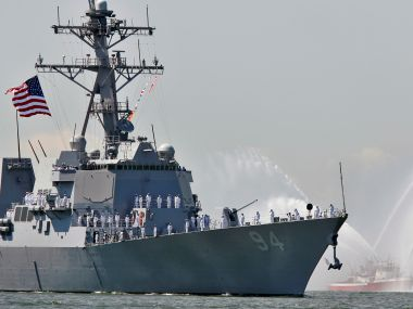 File photo of USS Nitze. Reuters
