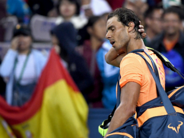 Rafael Nadal's loss to Viktor Troicki has made him rethink his end of season schedule. AFP