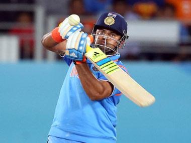 File photo of Suresh Raina. AFP