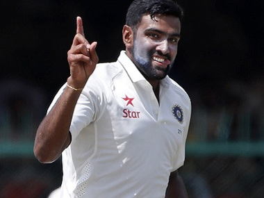 Ravichandran Ashwin celebrates a wicket. AP