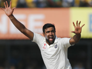 Ravichandran Ashwin took six wickets for 81 runs on Day 3 of the final Test. AP