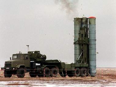 The S-400 'Triumf' long-range air defence missile system has the capability to destroy incoming hostile aircraft, missiles and even drones at ranges of up to 400 km. Reuters