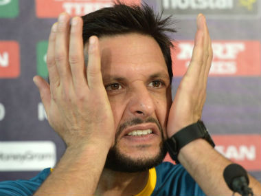 File picture of Shahid Afridi. AFP