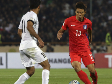 South Korea lost to Iran in their qualifier. AP