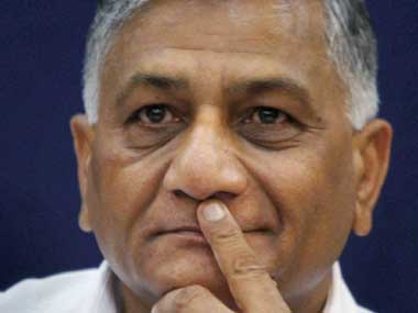 VK Singh says Hurriyat must be declared a terrorist body after TV channel exposes money trail leading to Pakistan