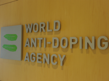 File image from WADA's headquarters. AFP