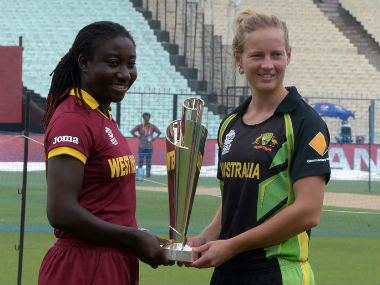 The final of the recently-concluded Women's World T20 took place a few hours before the men's event. AFP