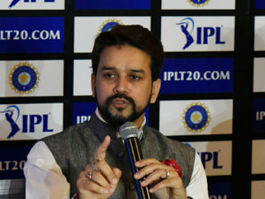 Anurag Thakur said he was pained by 'frivolous comments' about IPL. Getty Images