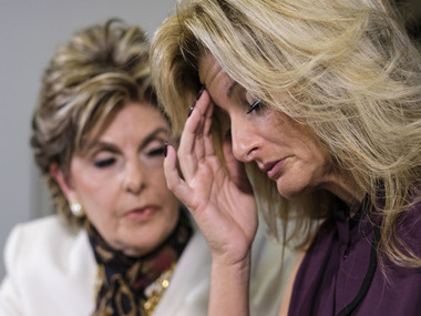 Another accuser who spoke out saying Trump touched her inappropriately while at work on 'The Apprentice'/ AP