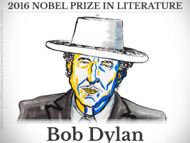 Lamest Nobel win since Obama How Twitter reacted to Bob Dylans Literature Prize win