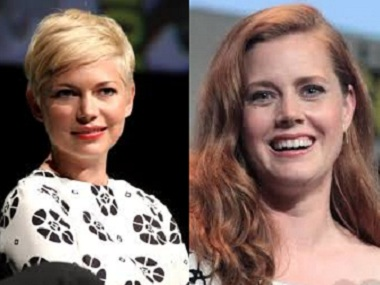 Michelle Williams and Amy Adams. Image courtesy: Creative Commons