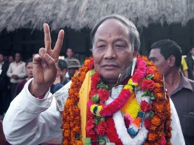 File photo of Chief Minister of Manipur Ibobi Singh. AFP