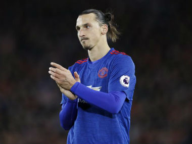 Ibrahimovic missed from close range against Liverpool and has promised to do better. Reuters