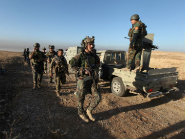 Iraqi army moving towards Mosul. Reuters
