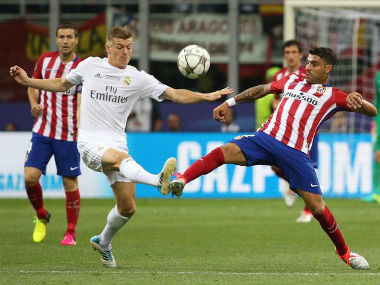 Kroos has played 108 matches with Madrid, helping the club win last season's Champions League. Reuters