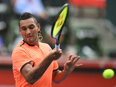 File photo of Nick Kyrgios. AP