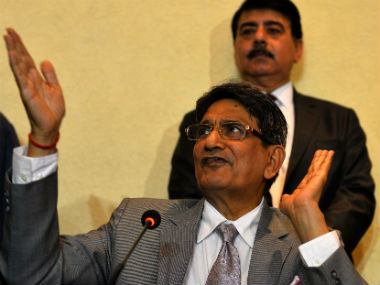 File photo of Justice Lodha. AFP