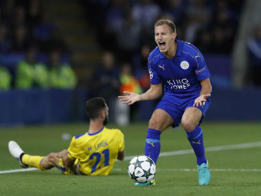 Marc Albrighton Leicester must get fighting again. Reuters