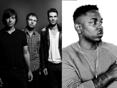 Listen Maroon 5 Kendrick Lamars single Dont Wanna Know debuts on iTunes