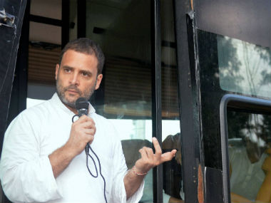 File image of Congress vice-president Rahul Gandhi. PTI