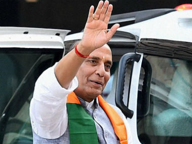 File image of Union minister Rajnath Singh. CNN-News18