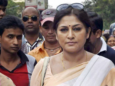 File photo of Roopa Ganguly. PTI