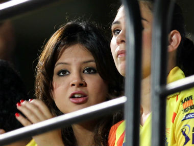 File photo of Sakshi Dhoni. AFP