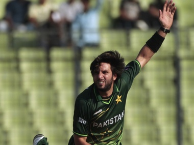 Shahid Afridi is the leading wicket taker in T20Is. Reuters file image