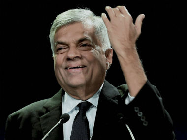 Among rising graft cases Sri Lanka PM Ranil Wickremesinghe says his govt will not tolerate corruption