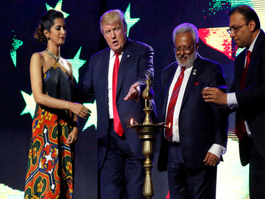 Trump gives India BFF status praises Modi at Hindu American gig