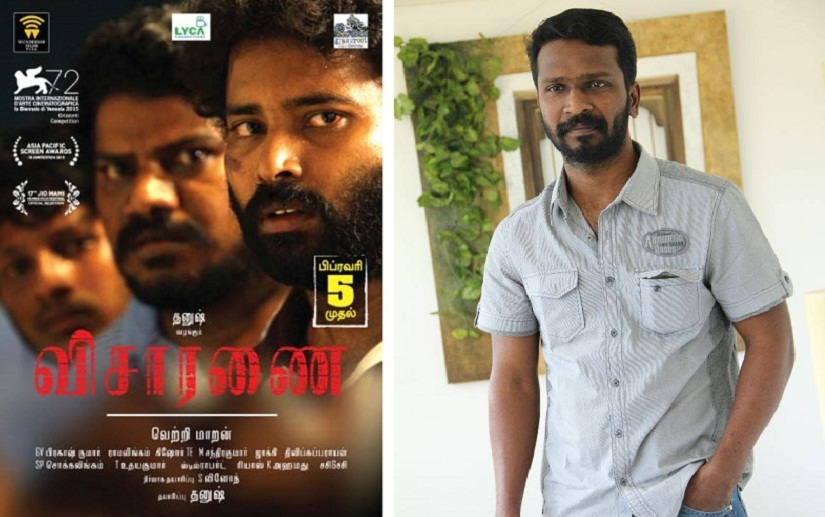 Vetri Maaran Tamil filmmakers have more freedom of expression than Hindi filmmakers
