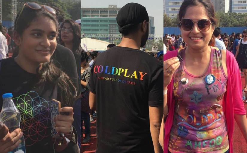 coldplay fans