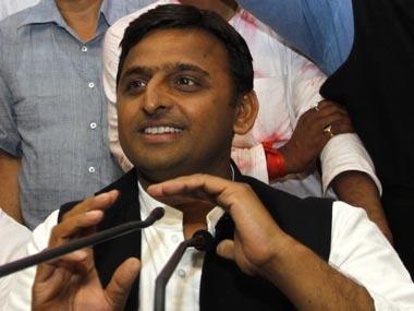 A file image of Uttar Pradesh CM Akhilesh Yadav. AP
