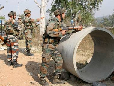 Nagrota attack Seven army personnel including two officers and five jawans killed