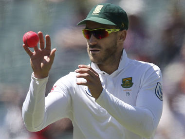South Africa's Faf du Plessis in action. AP
