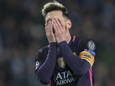 File image of Barcelona's Lionel Messi. AFP