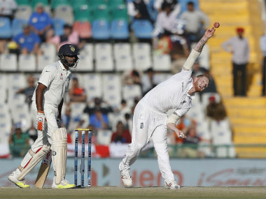 Ben Stokes helped himself with two wickets, including the prized one of skipper Virat Kohli. AP