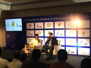 Mahesh Bhupathi at the