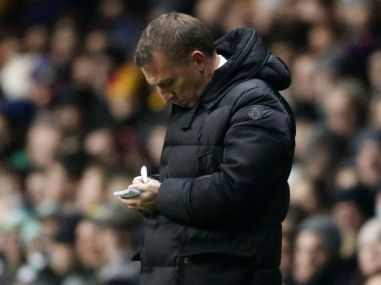File photo of Brendan Rodgers. Reuters